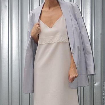 Одежда ручной работы. Ярмарка Мастеров - ручная работа Платье-комбинация #ДЕЛИКАТНОСТЬ. Handmade.