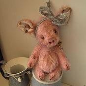 Куклы и игрушки ручной работы. Ярмарка Мастеров - ручная работа Поросёнок  Дафна. Handmade.
