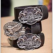 """Аксессуары ручной работы. Ярмарка Мастеров - ручная работа Ремни """"Байкер"""". Handmade."""