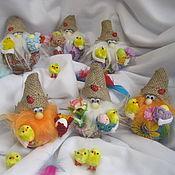 Куклы и игрушки ручной работы. Ярмарка Мастеров - ручная работа ПАСХАЛЬНЫЙ Домовой. Handmade.