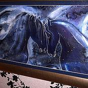 """Картины и панно ручной работы. Ярмарка Мастеров - ручная работа Панно """"Созвездие Лошади"""". Handmade."""