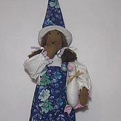 Куклы и игрушки ручной работы. Ярмарка Мастеров - ручная работа Добрая ведьмочка птичница. Handmade.