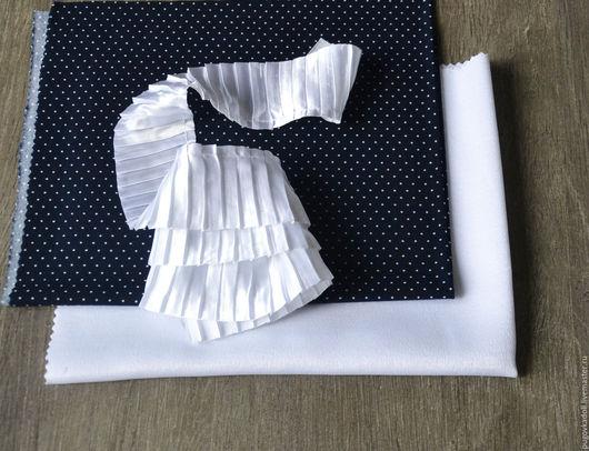 Шитье ручной работы. Ярмарка Мастеров - ручная работа. Купить Набор ткани 21. Handmade. Тёмно-синий, набор тканей