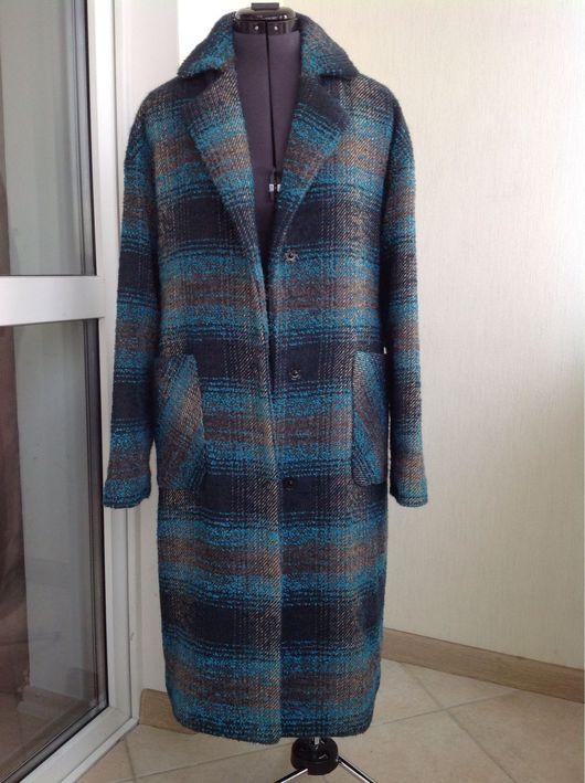 Верхняя одежда ручной работы. Ярмарка Мастеров - ручная работа. Купить Пальто из шерсти оверсайз. Handmade. Пальто, пальто утепленное