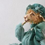 Куклы и игрушки ручной работы. Ярмарка Мастеров - ручная работа РЕЗЕРВ считать овечек: три. Handmade.