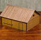 Сувениры и подарки handmade. Livemaster - original item The layout of the barn. Handmade.