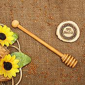 Для дома и интерьера handmade. Livemaster - original item Grisl wooden Spoon for honey Birch #D4. Handmade.