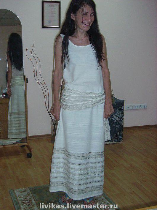 Этническая одежда ручной работы. Ярмарка Мастеров - ручная работа. Купить свежесть утра. Handmade. Этника, бохо, белый