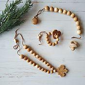 Работы для детей, handmade. Livemaster - original item The set of natural juniper,