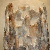 Одежда ручной работы. Ярмарка Мастеров - ручная работа Дубленка для ценителей.. Handmade.