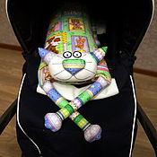 """Куклы и игрушки ручной работы. Ярмарка Мастеров - ручная работа Игрушка-подушка """"Радужный кот"""" Мимимишки. Handmade."""