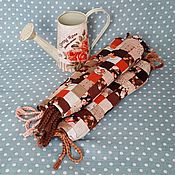 Сувениры и подарки handmade. Livemaster - original item Patchwork bag Rose garden with physalis. Handmade.