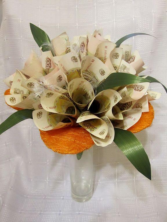 Дизайн букеты из цветов и денег, цветов ялта крым