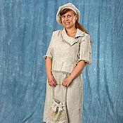 Одежда ручной работы. Ярмарка Мастеров - ручная работа льняные истории. Handmade.