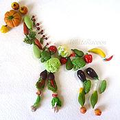 Куклы и игрушки ручной работы. Ярмарка Мастеров - ручная работа Овощи и фрукты - миниатюра для кукол. Handmade.