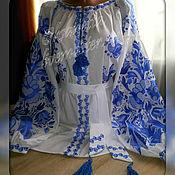 Одежда handmade. Livemaster - original item Blouse-embroidery