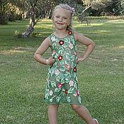 Работы для детей, ручной работы. Ярмарка Мастеров - ручная работа Цветочное платье. Handmade.