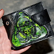 Субкультуры handmade. Livemaster - original item Wallet for men