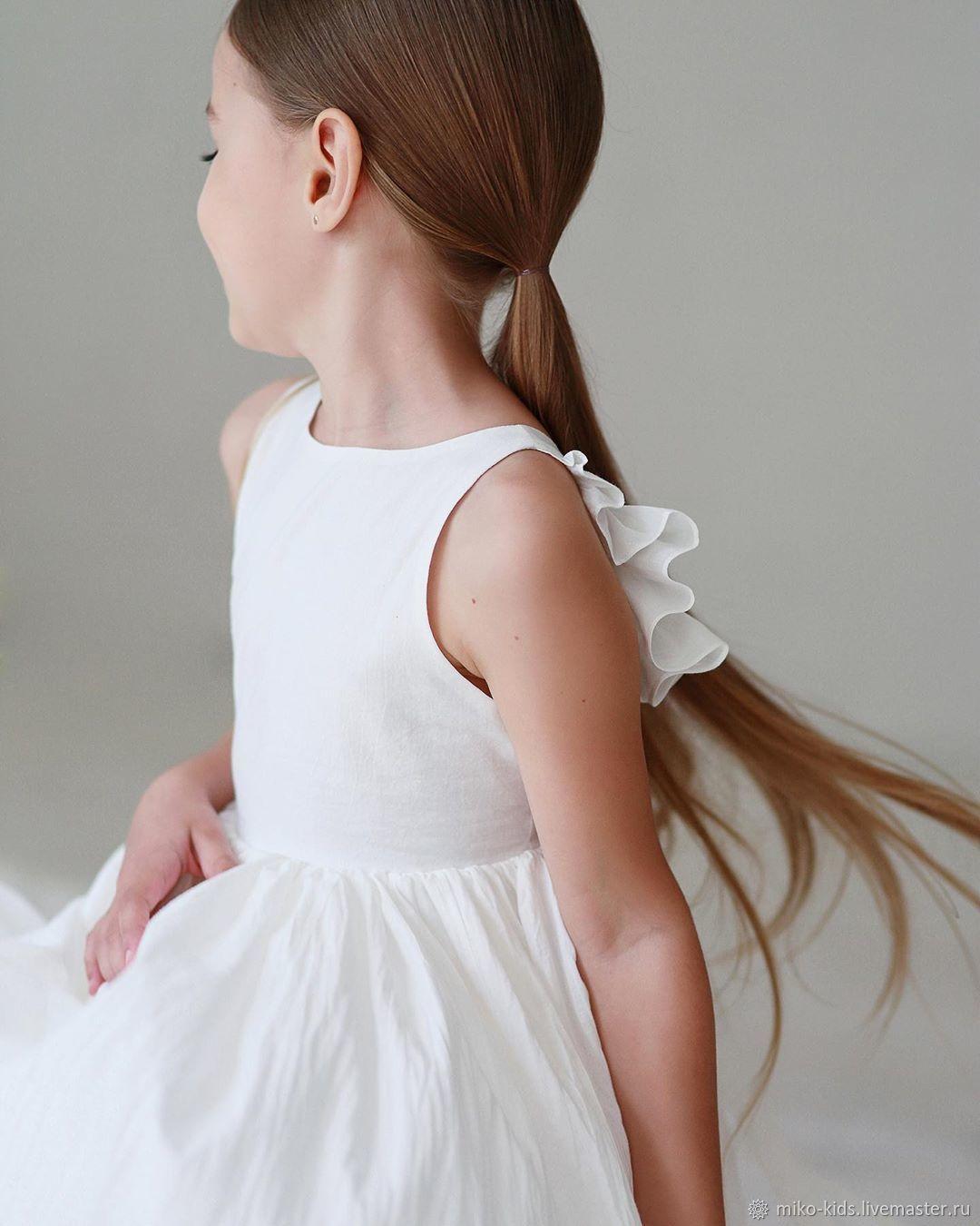 Хлопковое платье сарафан с крылышками, Платья, Екатеринбург,  Фото №1