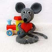 Куклы и игрушки handmade. Livemaster - original item The mouse has thrown. Handmade.