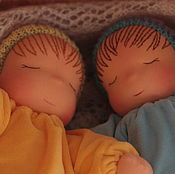 Вальдорфские куклы и звери ручной работы. Ярмарка Мастеров - ручная работа Вальдорфская кукла Сплюша 35 см. Handmade.