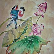 Картины и панно ручной работы. Ярмарка Мастеров - ручная работа Вдохновение Китаем. Handmade.