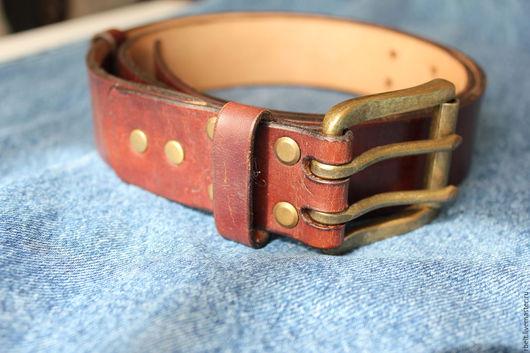 Пояса, ремни ручной работы. Ярмарка Мастеров - ручная работа. Купить код тов. 2/12 Винтажный ремень ручной работы - 38 мм. Handmade.