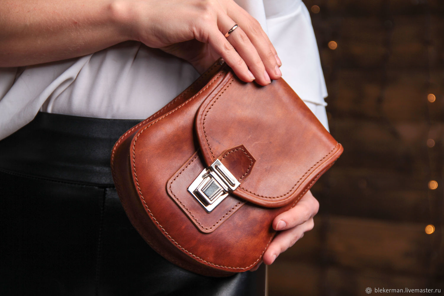 Bag made of genuine leather ' Marie ', Classic Bag, Penza,  Фото №1