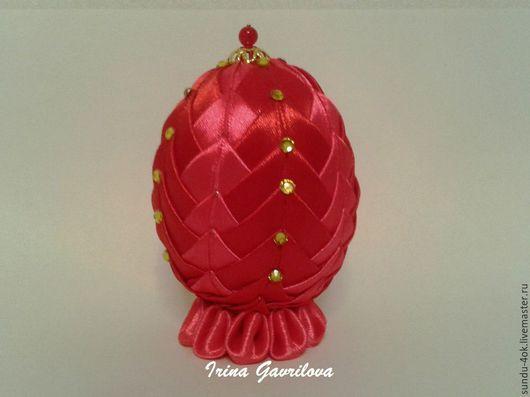 Подарки на Пасху ручной работы. Ярмарка Мастеров - ручная работа. Купить Пасхальное яйцо. Handmade. Комбинированный, подарок, из лент
