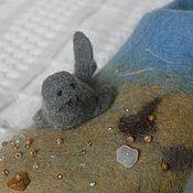 """Обувь ручной работы. Ярмарка Мастеров - ручная работа """"Байкальские жители"""" войлочные тапочки. Handmade."""