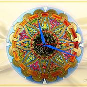 Для дома и интерьера ручной работы. Ярмарка Мастеров - ручная работа Часы Завитки. Handmade.