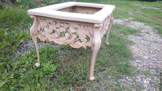 Мебель ручной работы. Ярмарка Мастеров - ручная работа. Купить Стол  цветочный. Handmade. Коричневый, бук, вишня