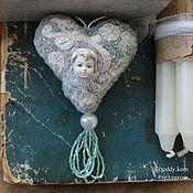 Для дома и интерьера ручной работы. Ярмарка Мастеров - ручная работа Мягкое сердце 2. Handmade.