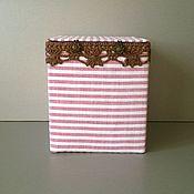Для дома и интерьера handmade. Livemaster - original item Box for seamstress Tiramisu. Handmade.