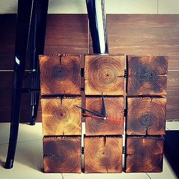 """Для дома и интерьера ручной работы. Ярмарка Мастеров - ручная работа """"Время и свет"""" комплект в стиле лофт. Handmade."""