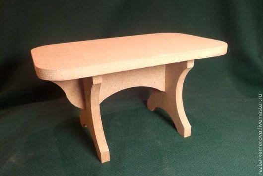 Кукольный дом ручной работы. Ярмарка Мастеров - ручная работа. Купить Стол столовый для куклы. Handmade. Заготовки для декупажа, для кукол