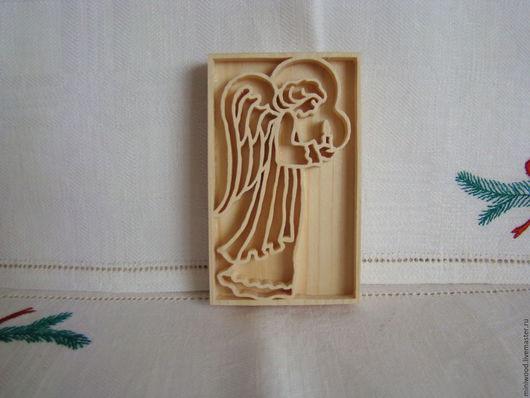 Новый год 2017 ручной работы. Ярмарка Мастеров - ручная работа. Купить Ангел хранитель. Handmade. Ангел хранитель, сувенир из дерева