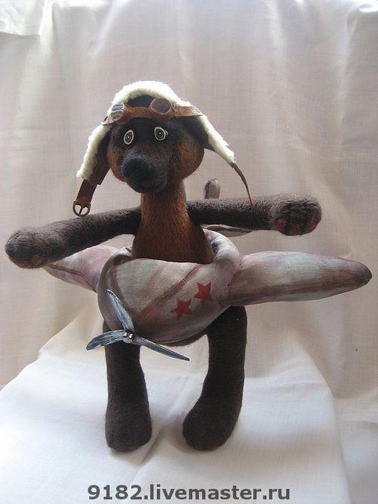 """Мишки Тедди ручной работы. Ярмарка Мастеров - ручная работа. Купить Мишка-тедди """"Я лечу...."""". Handmade. Мишка"""