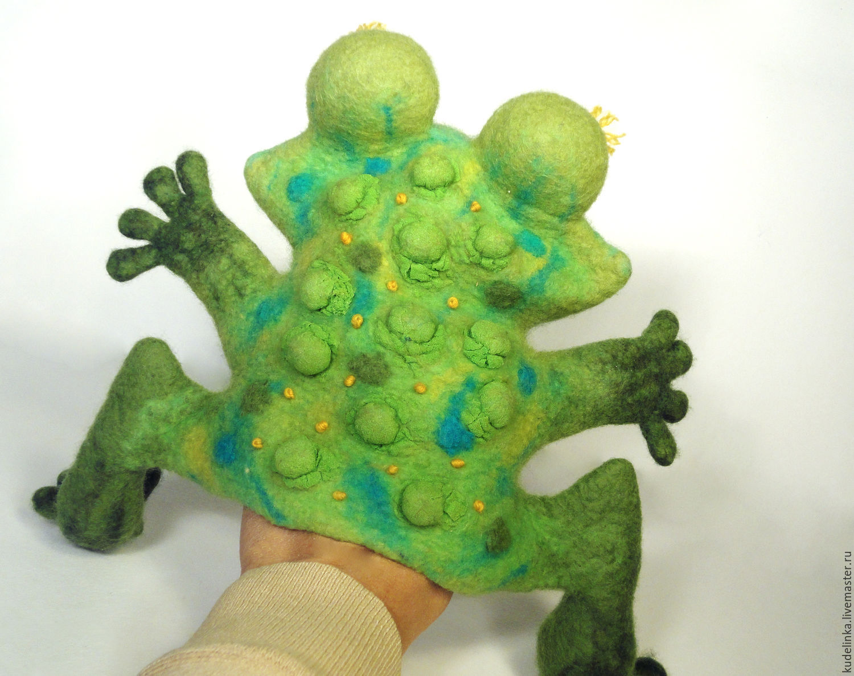Лягушка своими руками для кукольного театра своими руками