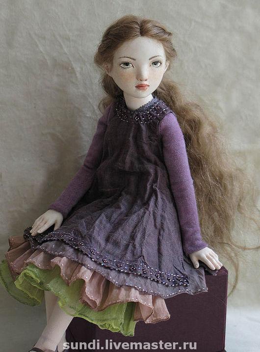 Коллекционные куклы ручной работы. Ярмарка Мастеров - ручная работа. Купить Мари. Handmade. Bjd, флюмо