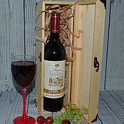 Упаковочная коробка ручной работы. Ярмарка Мастеров - ручная работа Подарочный короб из массива дерева. Handmade.