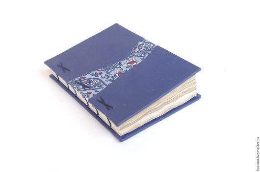 Блокноты ручной работы. Ярмарка Мастеров - ручная работа. Купить Алиса. Блокнот А6 ручной работы. Handmade. Тёмно-синий