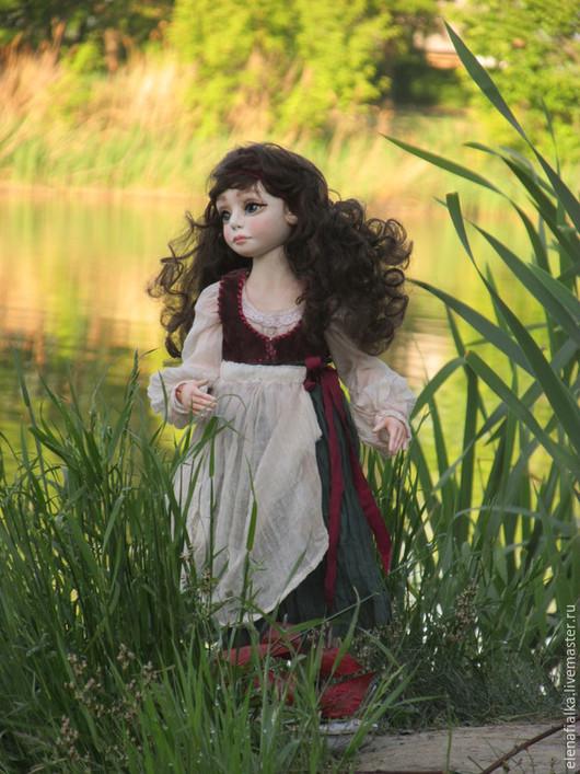 Коллекционные куклы ручной работы. Ярмарка Мастеров - ручная работа. Купить Ассоль. Handmade. Морская волна, шарнирная, Ладолл, пастель