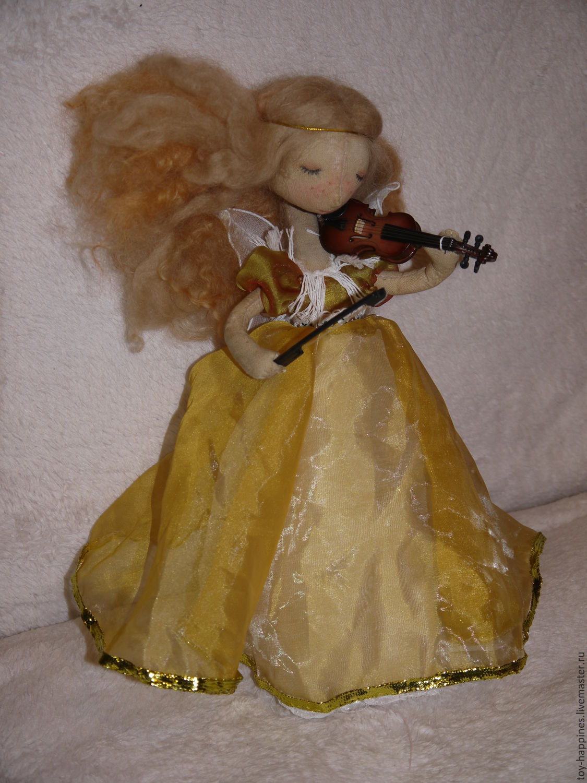 фея-скрипачка, Игрушки, Ковдор, Фото №1