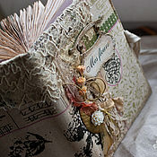 """Канцелярские товары ручной работы. Ярмарка Мастеров - ручная работа Блокнот """"Fleurs"""". Handmade."""