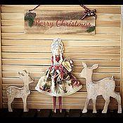 Куклы и игрушки ручной работы. Ярмарка Мастеров - ручная работа Тильда-кукла. Handmade.
