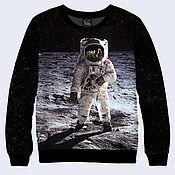 """Одежда ручной работы. Ярмарка Мастеров - ручная работа Свитшот """"Астронавт"""". Handmade."""