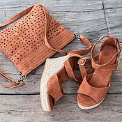 Обувь ручной работы handmade. Livemaster - original item Sandals made of genuine leather Fiona. Handmade.