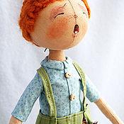 Куклы и игрушки ручной работы. Ярмарка Мастеров - ручная работа Тыквоголовая Кукла мальчик Ванюша. Handmade.