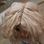 """Куклы и игрушки ручной работы. Ярмарка Мастеров - ручная работа Парик для куклы 7-8"""" (21см). Handmade."""